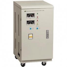 Сервопривідний стабілізатор напруги трифазний ІЕК СНИ3 6 кВА