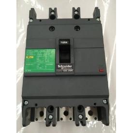 Автоматичний вимикач 3p 125A EZC250 Schneider Electric