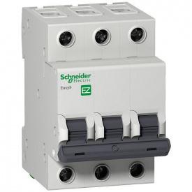 Автоматический выключатель Easy9 3Р 25А С