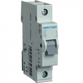 Автоматичний вимикач Hager 25 А, 1п, В MB125A