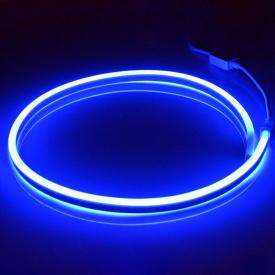 Світлодіодний неон AVT синій NEON 120B2835-220V-12W/m IP65 6mm