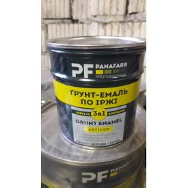 Грунт-эмаль Panafarb 3в1 белая 0,8кг