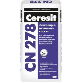 Легковыравниваемая стяжка Ceresit СN 278