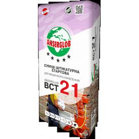 Штукатурка финишная серая Anserglob ВСТ-22 (25 кг)