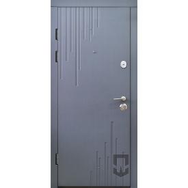 Двери входные Сидней цвет графит
