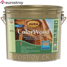 Средство защиты для дерева Aura ColorWood Aqua (б/цв) 9 л