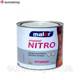 Нитроэмаль MALER черная 2 кг
