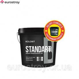Штукатурка силиконовая барашек Kolorit Standart 1,5 мм 25 кг Kosbud