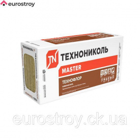 Вата базальтовая ТехноФлор Стандарт 50х600х1200 мм ТехноНиколь