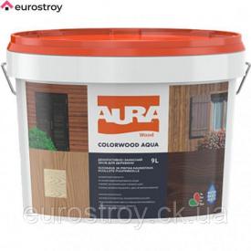 Защитное средство для дерева Aura ColorWood Aqua бесцветный 2,7 л