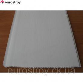 Плита пластикова Welltech біла матова 7 мм 600х600 мм