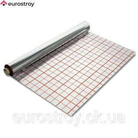 Плёнка фольгированная для теплых полов 1м 40 мкм Barier