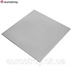 Плита металлическая RAL 9006 600х600 мм Euro