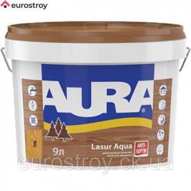 Средство защиты для дерева Aura Lasur Aqua прозрачный 2,5 л