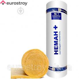 Вата мінеральна HEMAN + М-11 2х50х1200х6250 мм