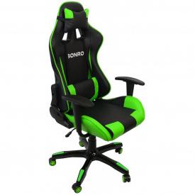 Крісло геймерське Bonro 2018 зелене