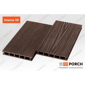 Террасная доска композитная Porch Intense 24х150х3000 шовная