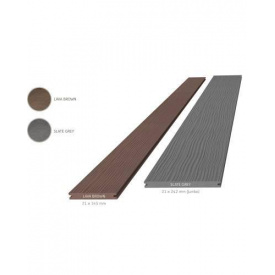Террасная доска композитная Megawood Premium Plus 21x145x6000 шовная