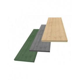 Террасная доска композитная Megawood Litum 21x295x3000 шовная