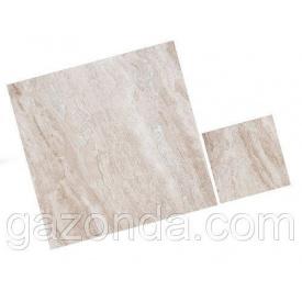 Мармурова плитка Діана Рояль вищий сорт 1,3х45,7х45,7см бежево-сіра