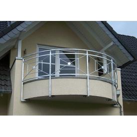 Установка металевих перил для балконів