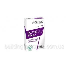 Клей монтажный гипсовый PLATO Fixer 25 кг