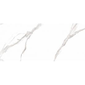 Плитка керамогранит Raviraj Ceramics Statuario Arona Statuario полированная напольная 60х120 см (349729)