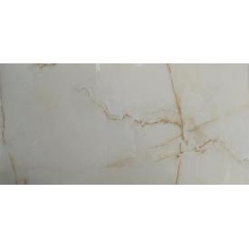 Плитка керамогранит Raviraj Ceramics Aquarius Onyx Beige полированная напольная 60х120 см (311264)