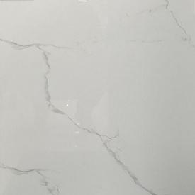 Плитка керамогранит Raviraj Ceramics Statuario Silver Statuario полированная напольная 60х60 см (349682)