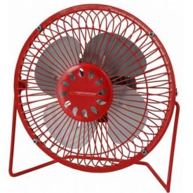 Вентилятор настольный USB Esperanza Yugo EA149R красный