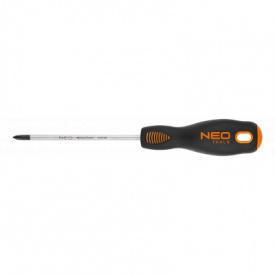 Викрутка NEO хрестова PH2 200 мм CrMo (04-025)