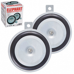 Сигнал дисковый СА-10110/Еlephant/12 В 110 мм