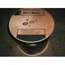 TV кабель FinMark F690BVcu black мідь 305 м