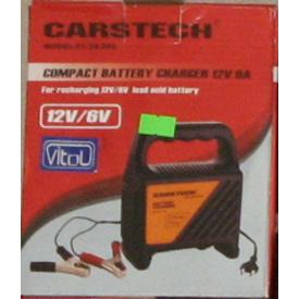 Зарядное устройство Carstech 54-060 6-12V 0-6A светодиодное