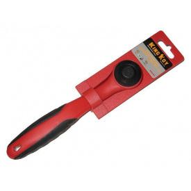 """Трещетка 3/8"""" с резиновой ручкой KingRoy (KRW-083) красная"""