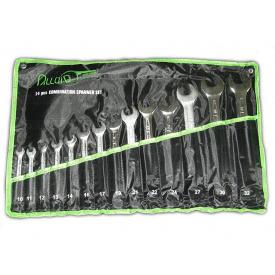 Набір ключів рожково-накидних 14 шт 10-32 мм Alloid НК-2061-14 сумка набір