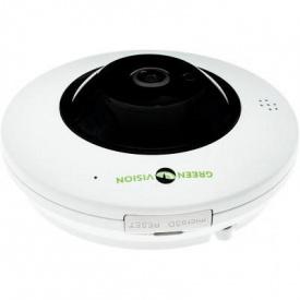 Камера відеоспостереження GreenVision GV-075-IP-ME-DIА20-20 (360) POE (6597)