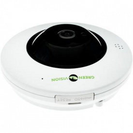 Камера видеонаблюдения GreenVision GV-075-IP-ME-DIА20-20 (360) POE (6597)