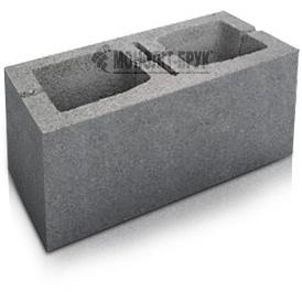 Блок строительный малый ТД Монолит-Брук 190x190x390 мм серый (284-1074-1)