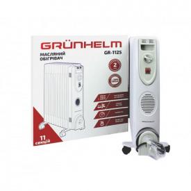 Масляный обогреватель радиатор Grunhelm GR-1125 11 секций 2.5 кВт