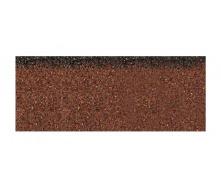 Коньково-карнизная плитка Aquaizol 250х1000 мм коричневый микс