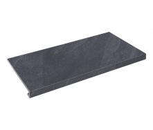 Плитка для ступеней Zeus Ceramica Slate black 60x34,5 см (SZRXST9RR)