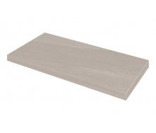 Ступенька угловая левая Zeus Ceramica Calcare Grey 34,5х60х0,92 см (SZRXCL8BRR1)