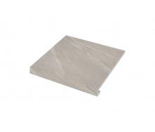 Ступенька угловая левая Zeus Ceramica Calcare Grey 30х34,5х0,92 см (SZRXCL8BRC1)