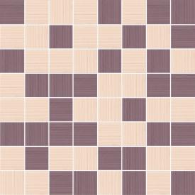Плитка Ceramika Konskie Paolo Yellow-Brown Mosaic мозаика 20х20 см