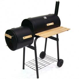 Угольный гриль-коптильня мангал садовый D+L Smoker
