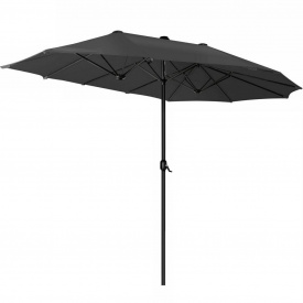 Зонт садовый Kesser, 3 метра, Черный (KE-455)