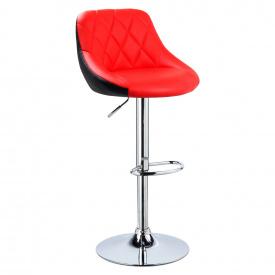 Барный стул Berlin BS187 Красный с черным