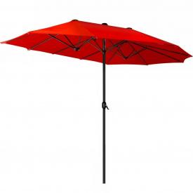 Зонт садовый Kesser, 3 метра, Красный (KE-455)