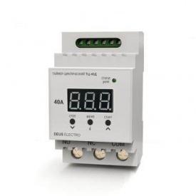 Таймер циклический DEUS Electro ТЦ-40Д цифровой на DIN-рейку (15А, 220В)